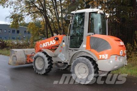 used atlas ar 75 t wheel loaders year 2012 price 49 591. Black Bedroom Furniture Sets. Home Design Ideas
