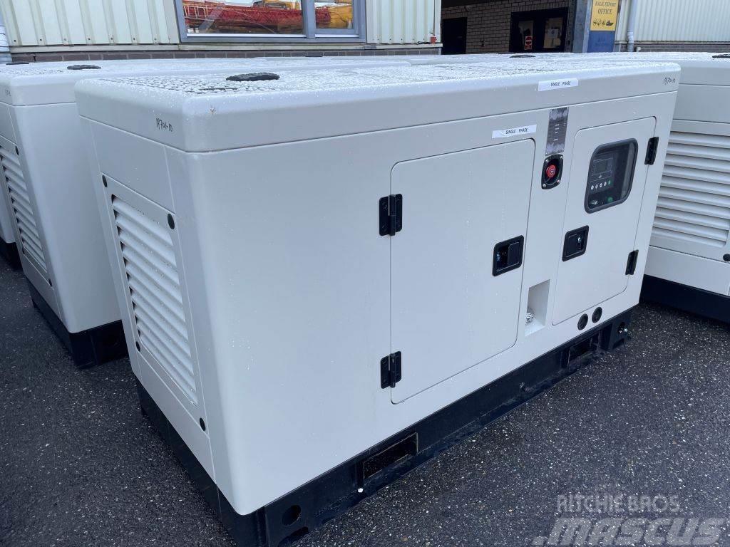 Ricardo 22 KVA Silent Generator 1 Phase 50HZ New Unused