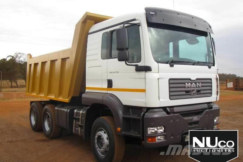 MAN TGA33-412 10M3 TIPPER