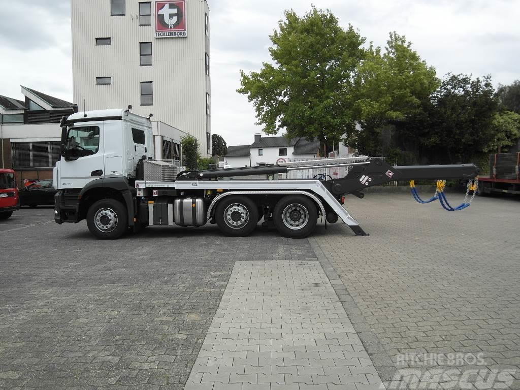 Mercedes-Benz Arocs 2540 L Absetzkipper VDL 18 TK