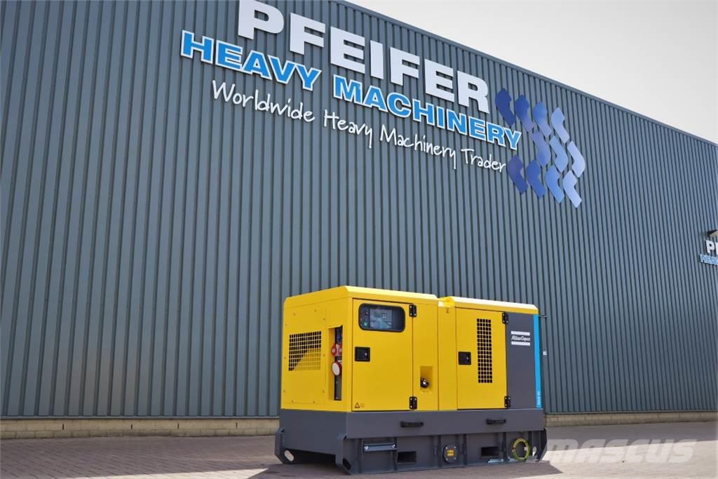 Atlas Copco QAS 60 ST3 Diesel, 60 kVA, Also Available For Rent