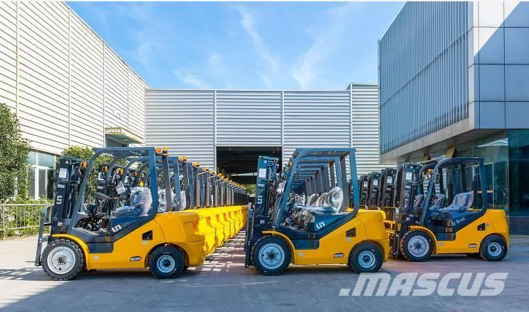 UN Forklift FD20T 2T Diesel Forklift Xinchai