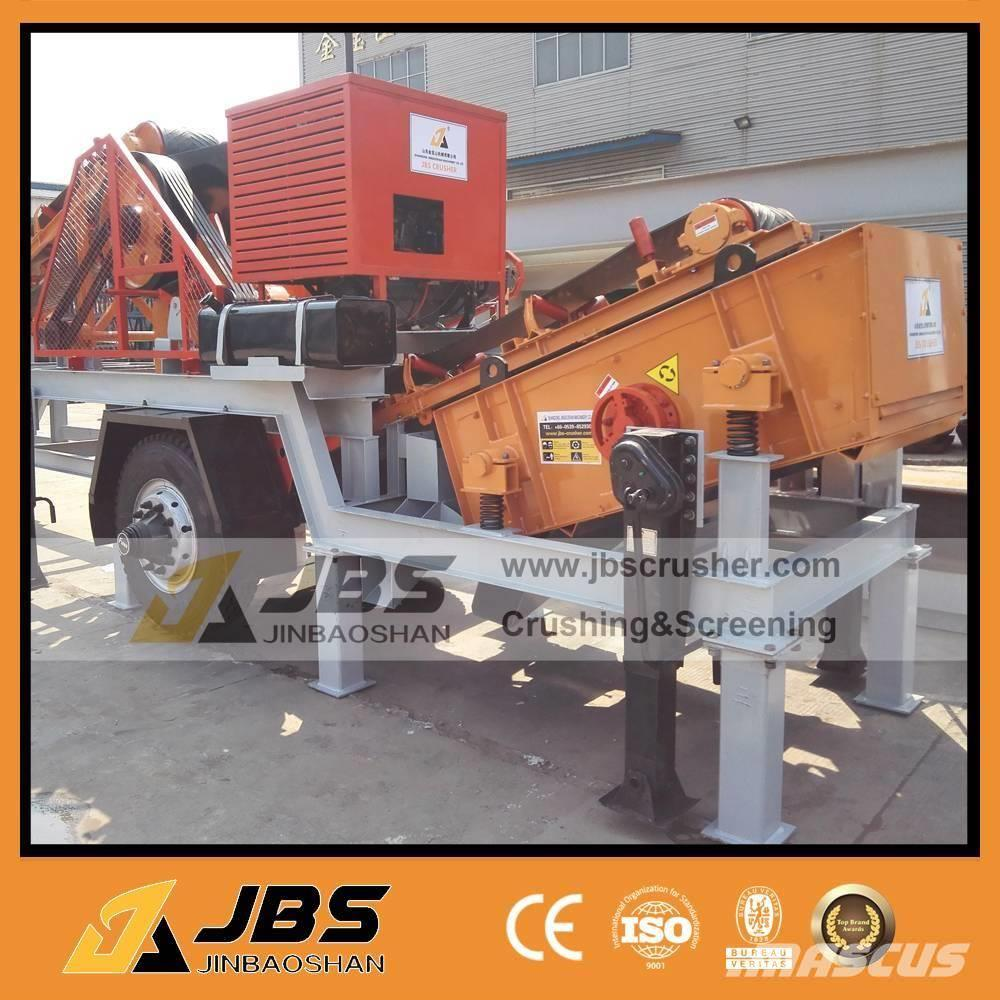 [Other] 8-20t/hMobile Crushing and screening plant MC2540