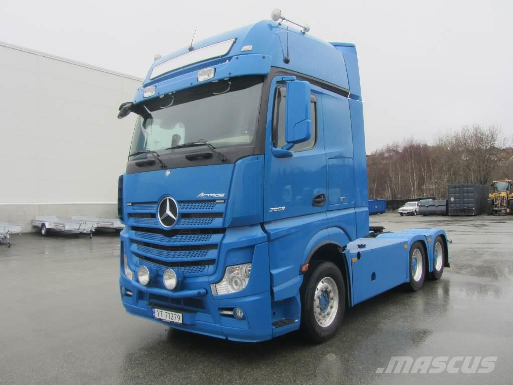 Mercedes benz actros 2663 gebrauchte sattelzugmaschinen for Mercedes benz richmond bc