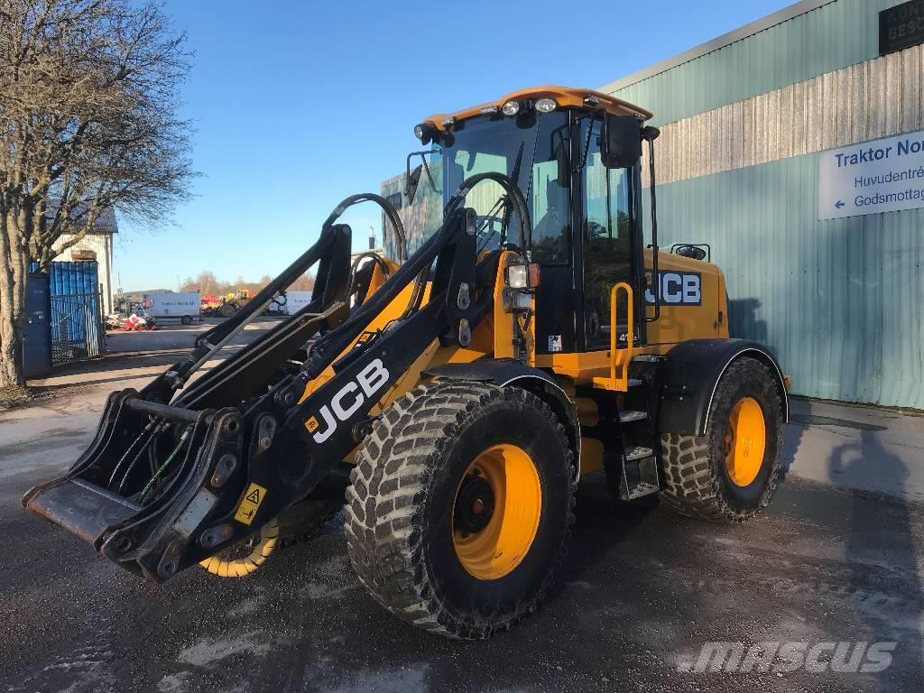 JCB 412 S, 50km/h, hitch -12