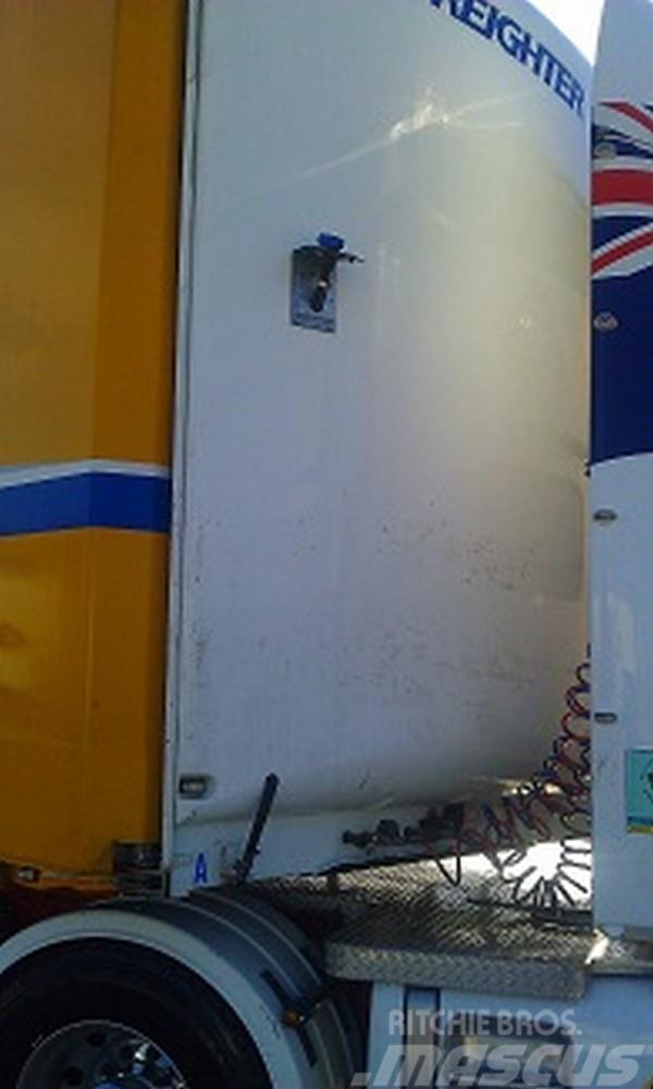Freighter dropdeck 45ft Over all length, 2006, Kapelltrailer