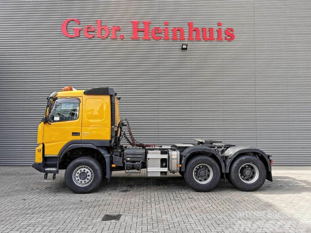 Volvo FMX 460 6x6 EEV Euro 5 Retarder Hubreduction PTO 6