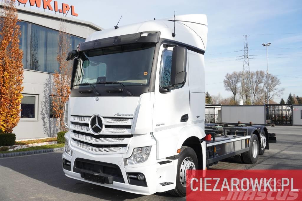 Mercedes-Benz Actros 2545 , E6 , 6x2 , BDF , chassis 7m