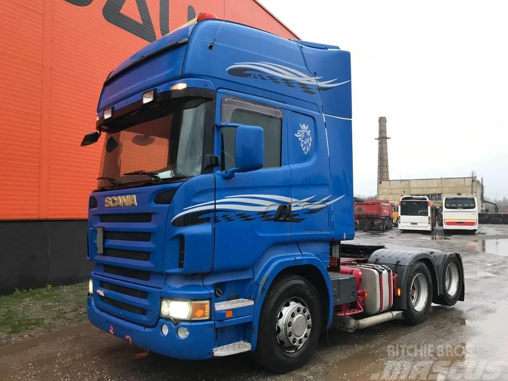 Scania R 500 Manual Retarder
