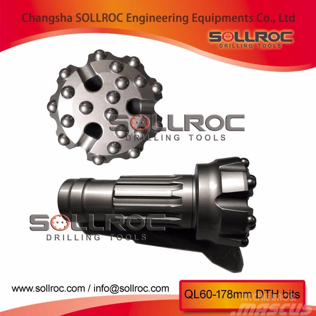 Sollroc DTH bit DHD360, COP64, M60, SD6, QL60