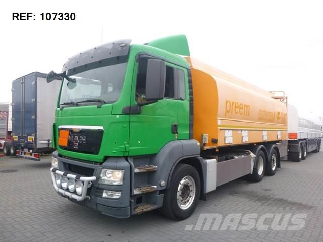 MAN TGS26.480 6X2 FUEL TANK WITH TRAILER EURO 5