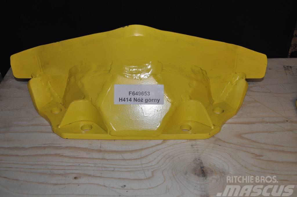 John Deere H414 F649653 Nóż górny stały H414/415