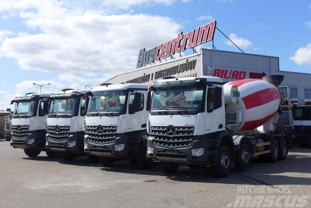Mercedes-Benz Arocs 4142 8x4 Mixer IMER 12 m3