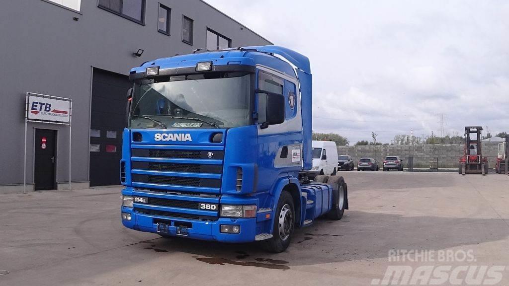 Scania 114 - 380 (MANUAL GEARBOX / BOITE MANUELLE)