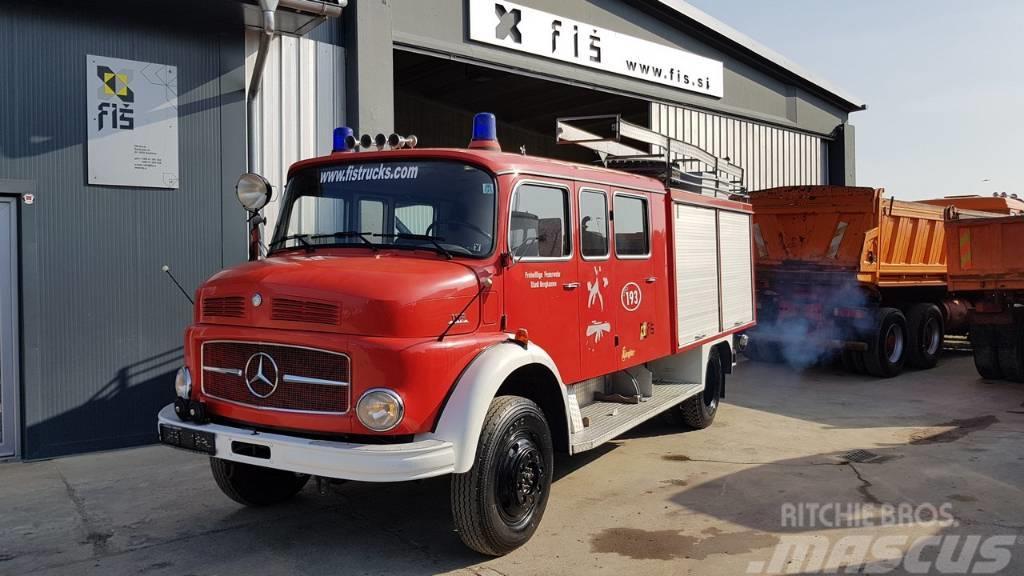 Mercedes-Benz 1113 4x4 firefighter