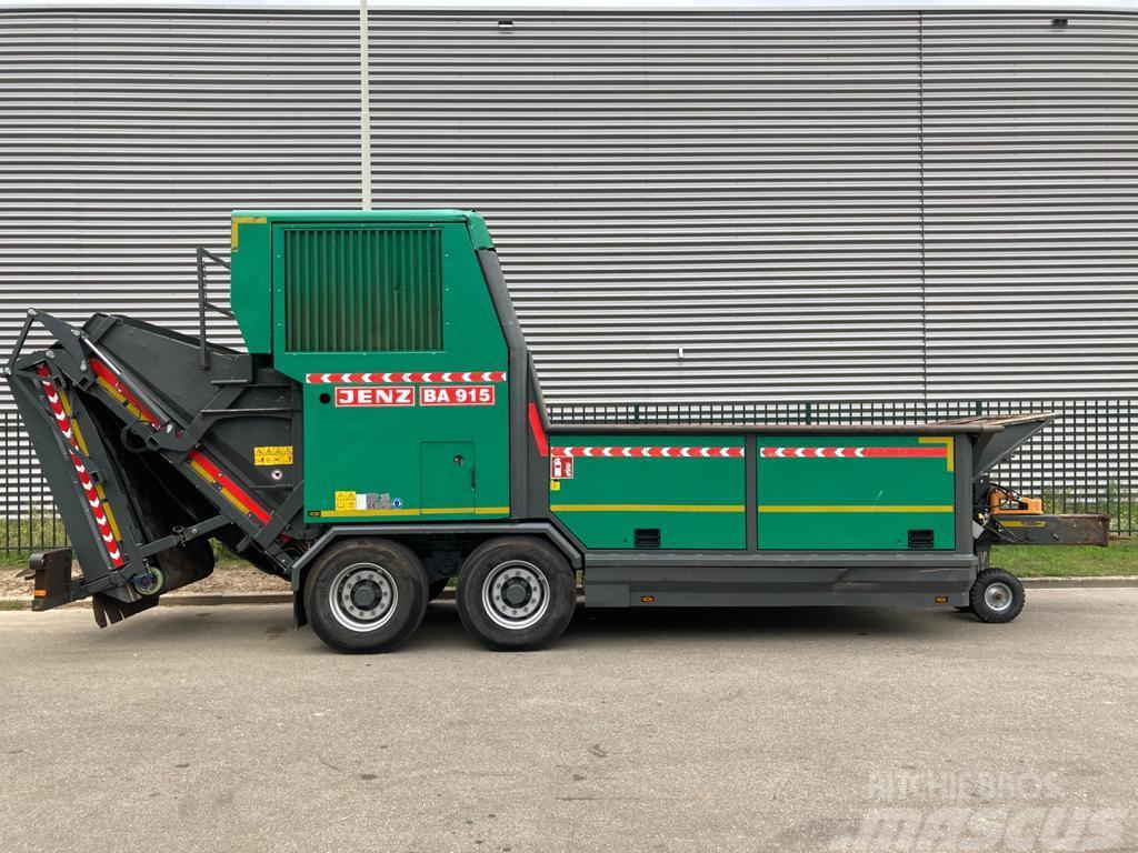 Jenz BA 915 D schredder