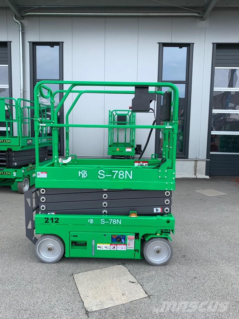 KB-Lift S-78N, NEW 7,8m electric scissor lift, warranty