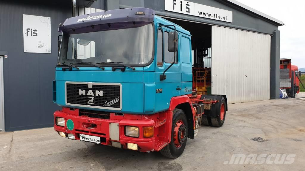 MAN 19.422 4X2 tractor unit - TOP