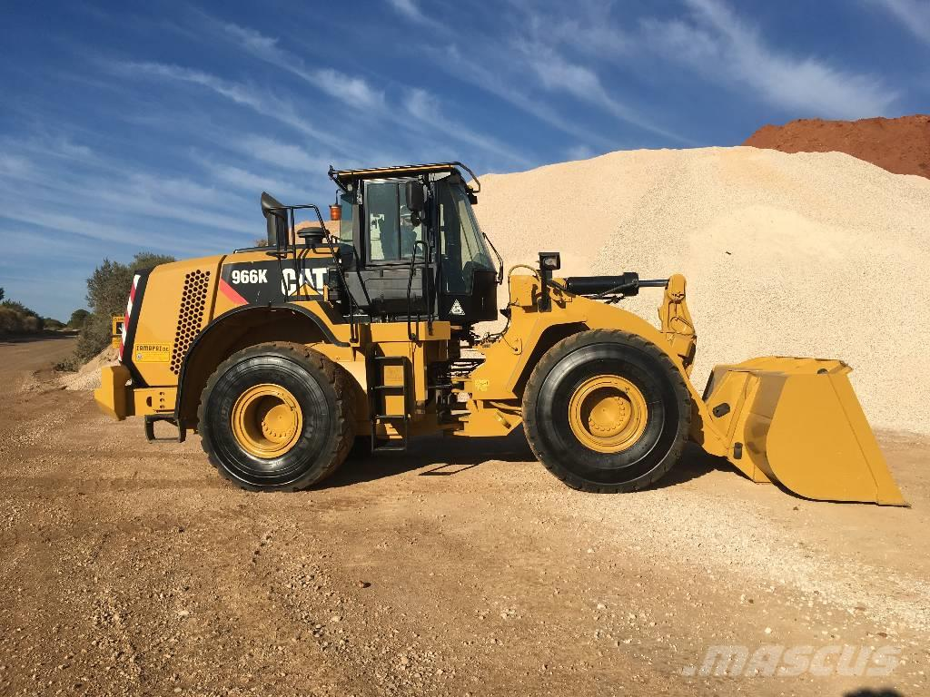 Caterpillar 966K (Option to remove the DPF FILTER)