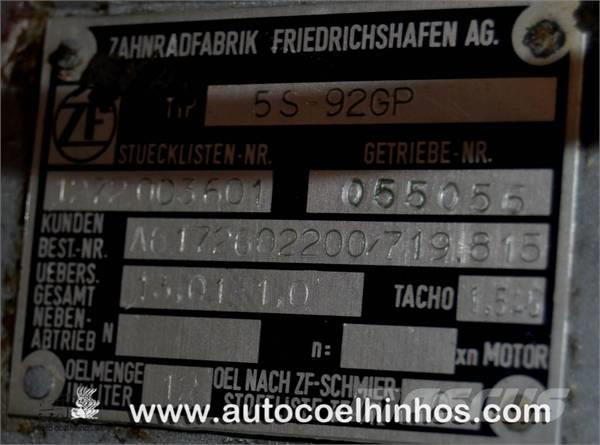Caixa de Velocidades 5S 92GP, 1988, Växellådor