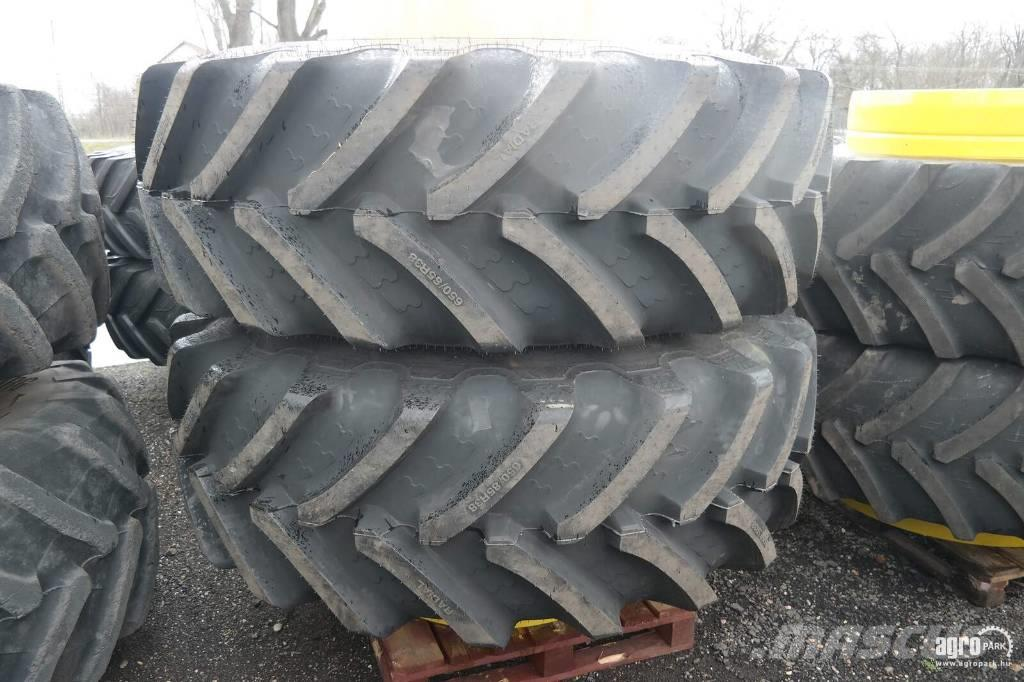 BKT New Twin wheel set with BKT 650/85R38 tires, 1 pai