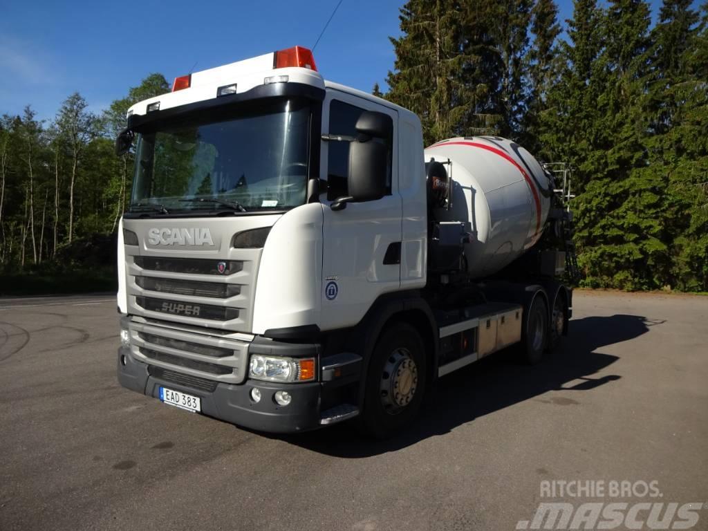 Scania EURO6 G 370lb6x2*4mna