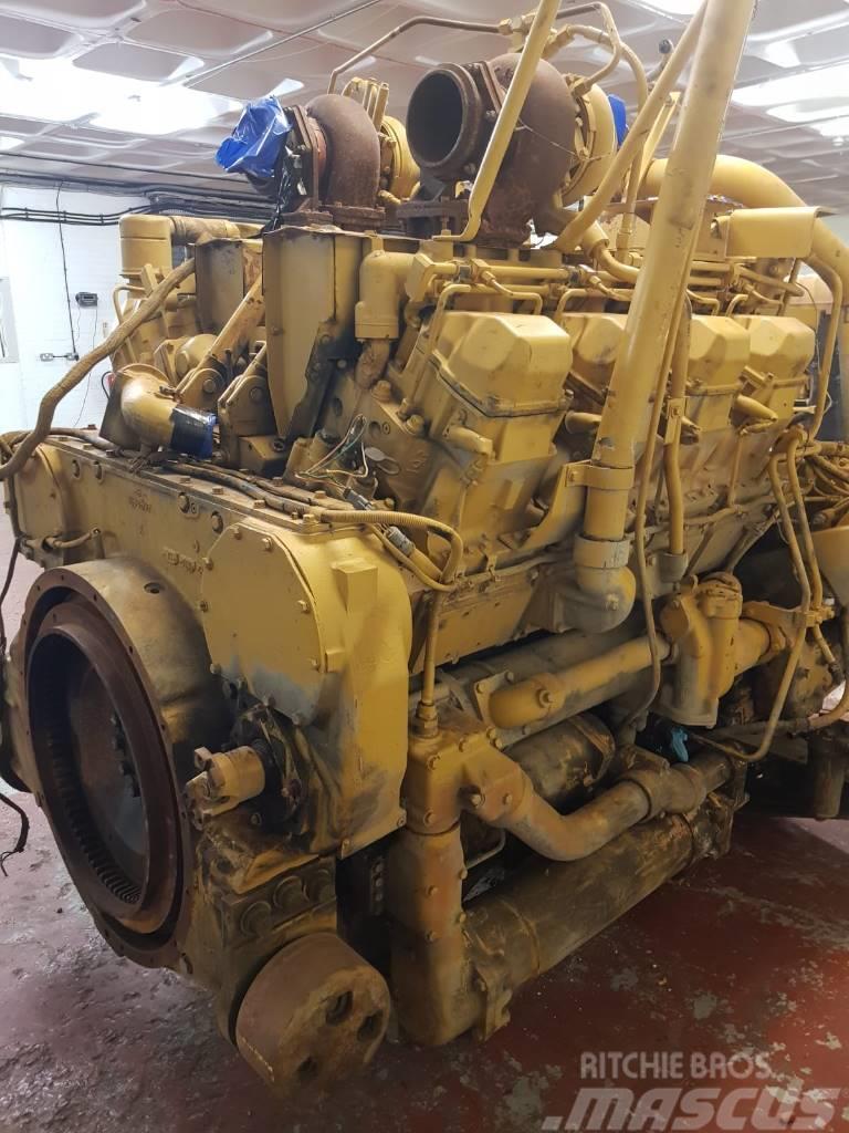 Caterpillar 777 D engine used