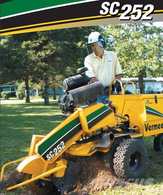 Vermeer Stump Grinder For Sale >> Used Vermeer Sc252 Stump Grinders Year 2010 Price Us 14 175 For