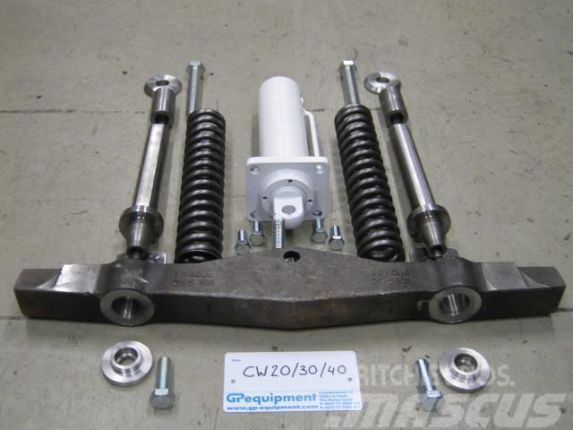 GP Equipment Onderdelen snelwissel HCW20/30/40 uitwis