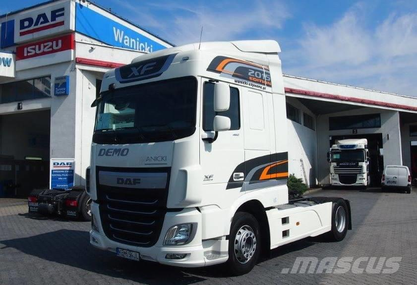DAF XF SC 2015 Euro 6 Demo Dealera DAF