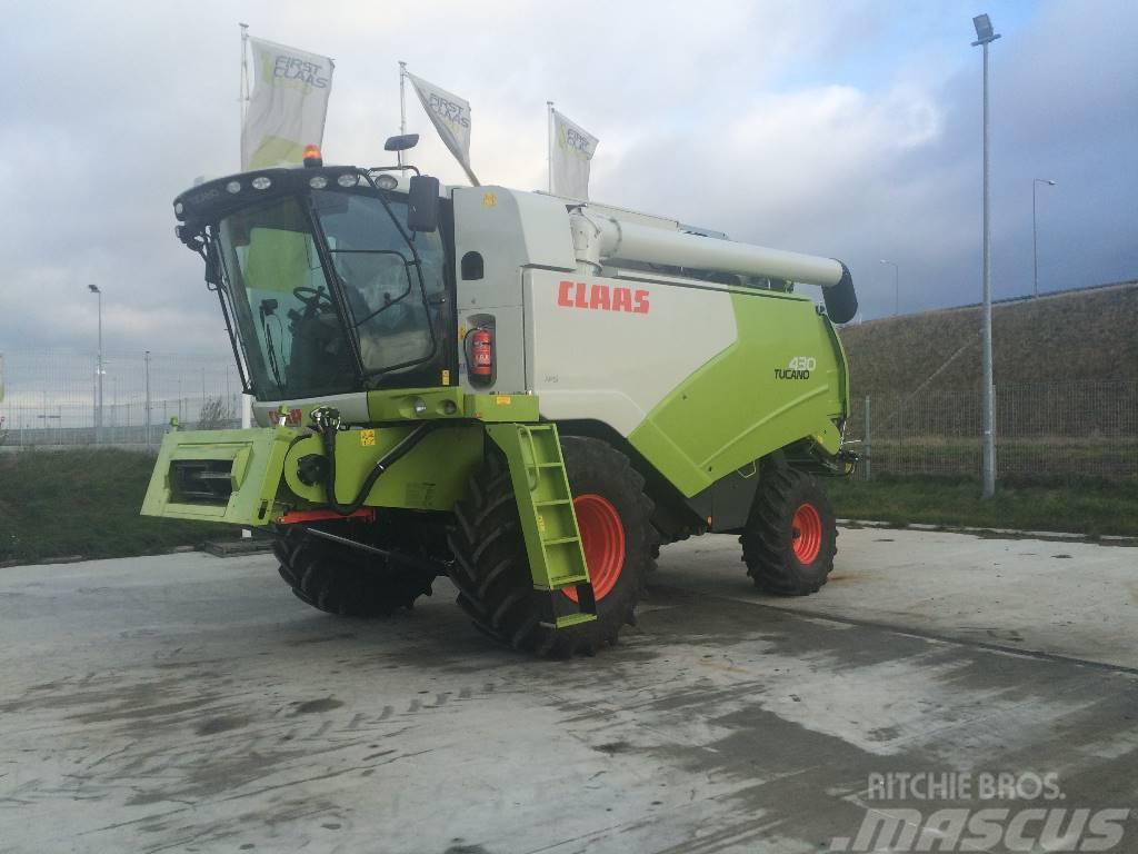 CLAAS TUCANO 430 4F