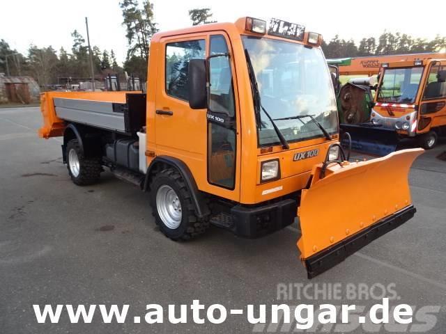 Multicar UX 100 Unimog 4x4 Winterdienst Schneeschild + Stre