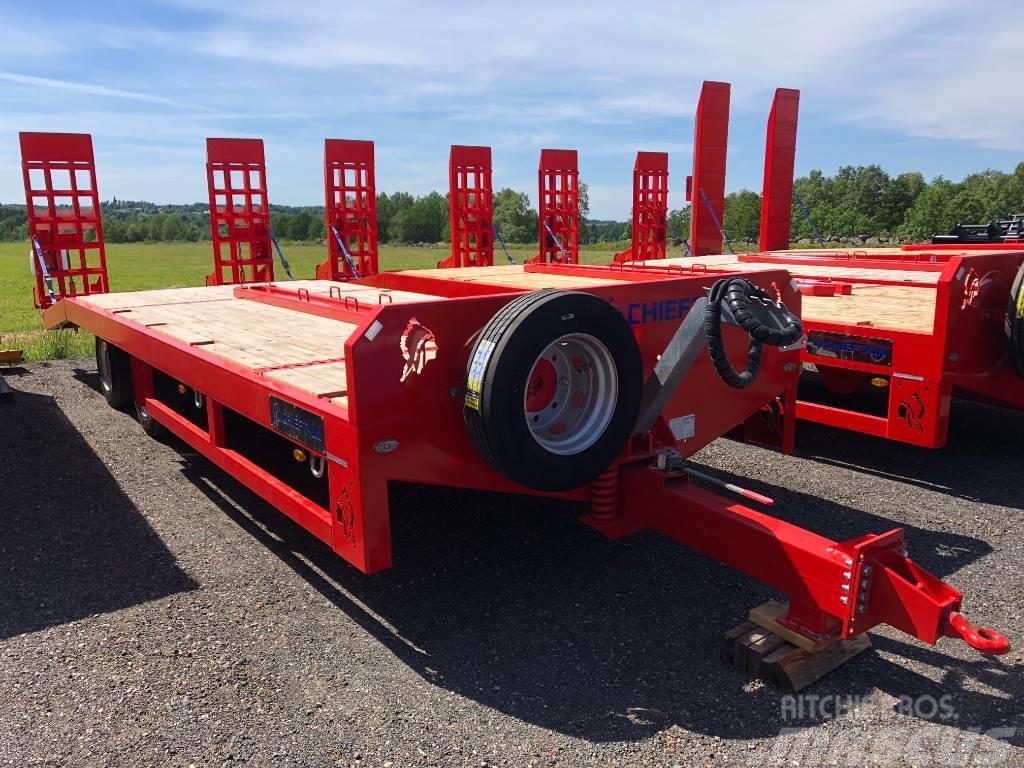 Chieftain 2-axl Maskintransportkärra traktor