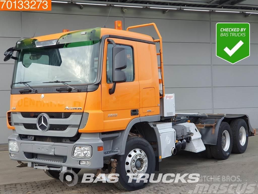 Mercedes-Benz Actros 2655 6X4 V8 Retarder Hydraulik Euro 5