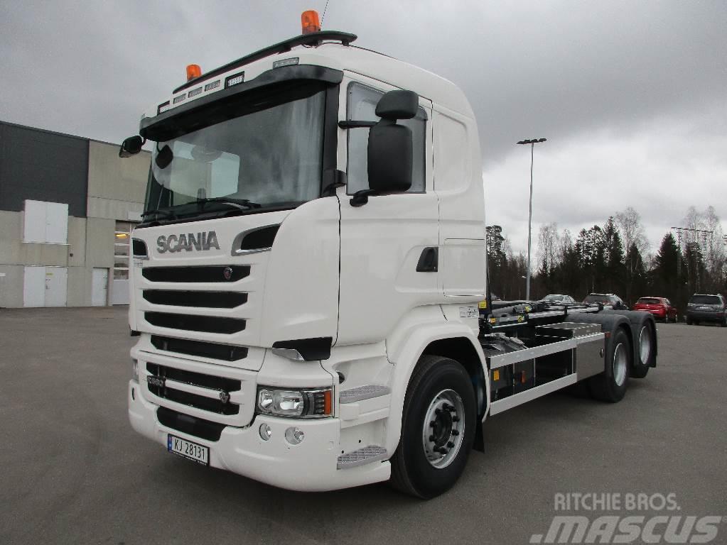 Scania R580 6x2 - Krokbil - Ventes inn til høsten