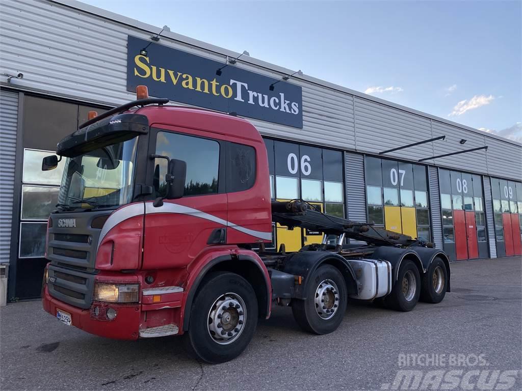 Scania P420 8x4 Juuri Katsastettu
