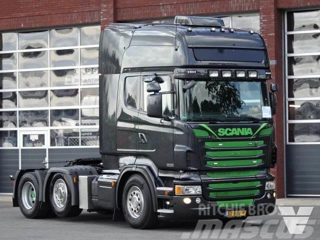Scania R480 LA6x2/4MNB Full Air Sliding Fiftwheel