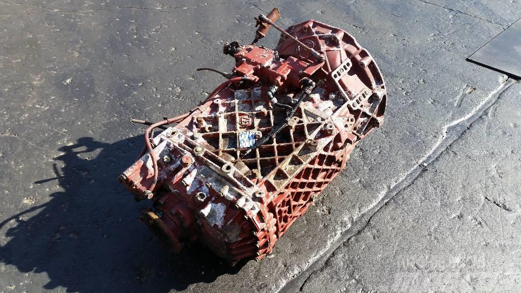 ZF 16S151, Växellådor