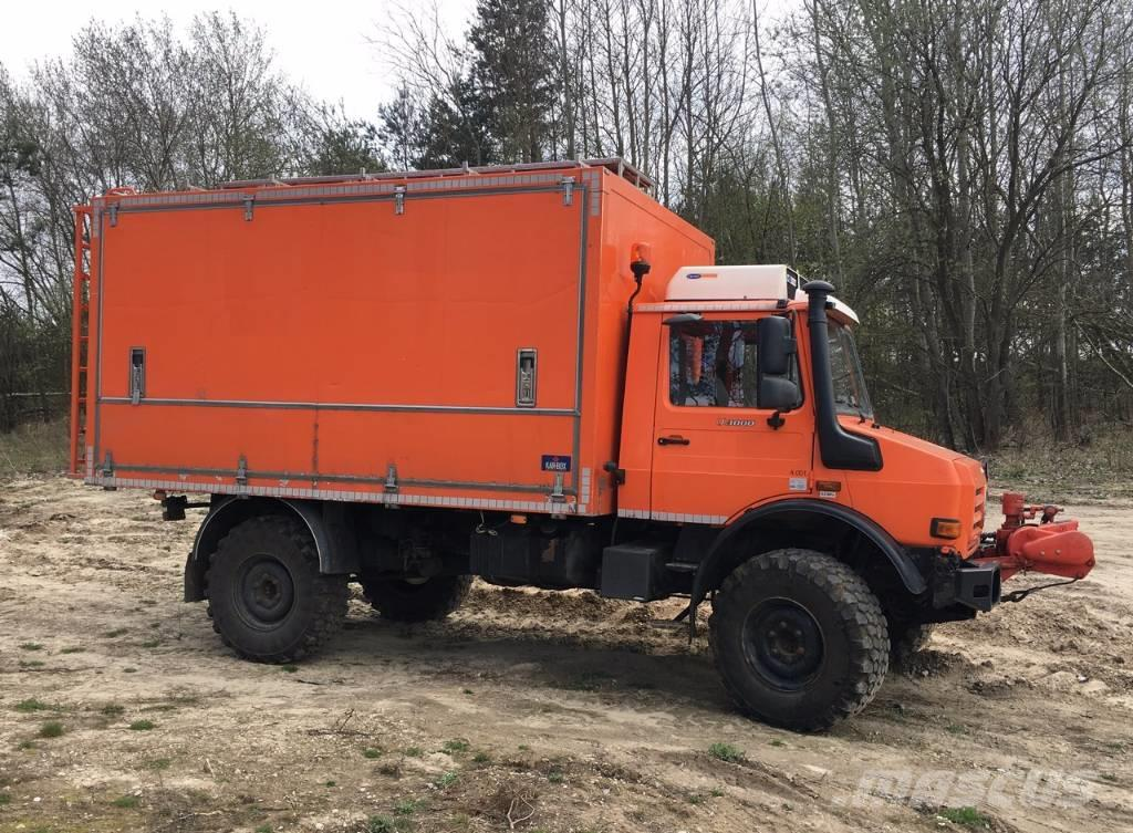 Mercedes-Benz Unimog U3000 technical service / mobile workshop