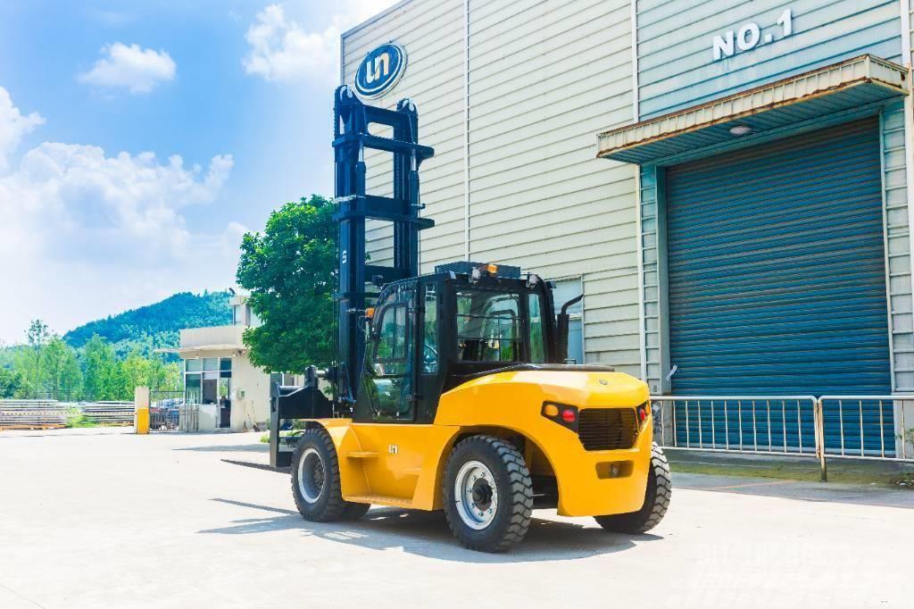 UN Forklift FD70T Diesel Forklift Isuzu 6BG1