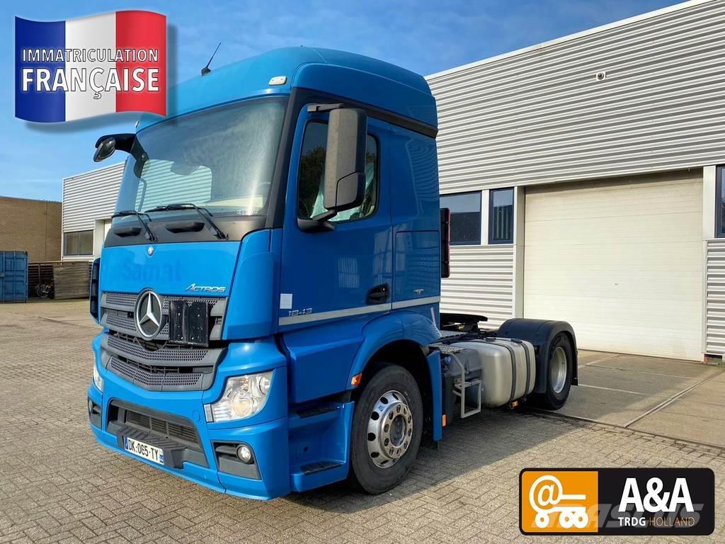 Mercedes-Benz ACTROS 1843 STREAMSPACE 230 MP4 522.000 KM ADR EUR