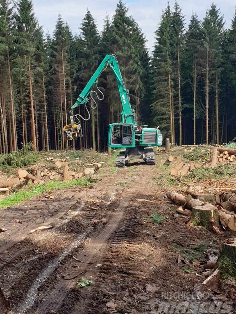 Ponsse Kern Forstmaschinen Königstiger 30 TS Ponsse H8 HD