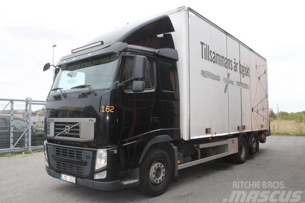 Volvo FH 6*2 Euro 5 Lift+Gaffeltruck