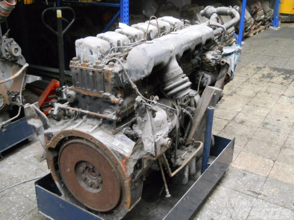 Büssing S12D / S 12 D, Motorer