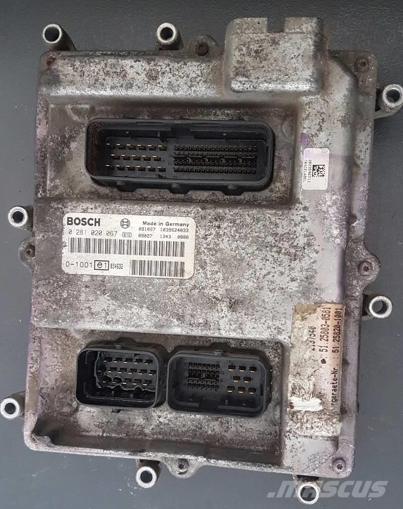 MAN TGL ECU  51.25803-0581, 51.25820-1001
