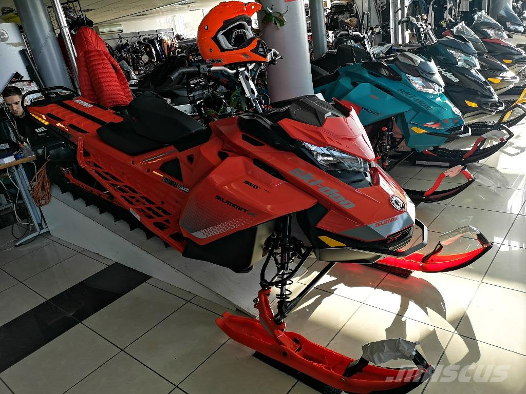 Ski-doo Summit X 850 ETEC 154 NEW 2019 SHOT