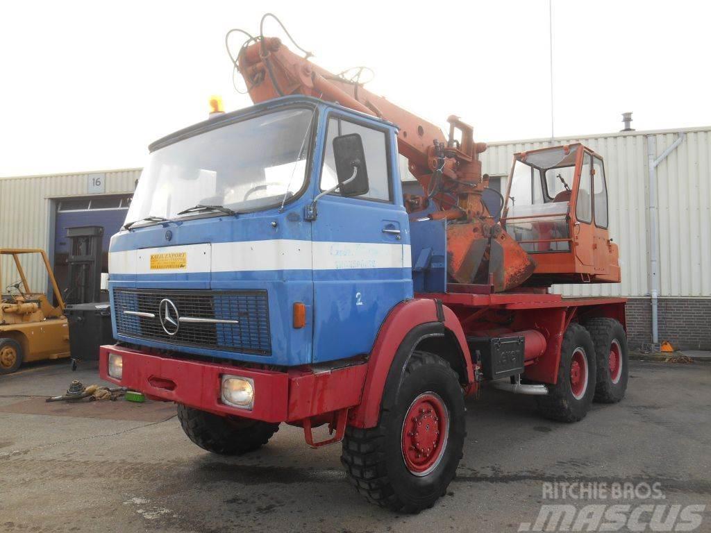 Mercedes-Benz 2632 Atlas Excavator 6x6 Top Condition