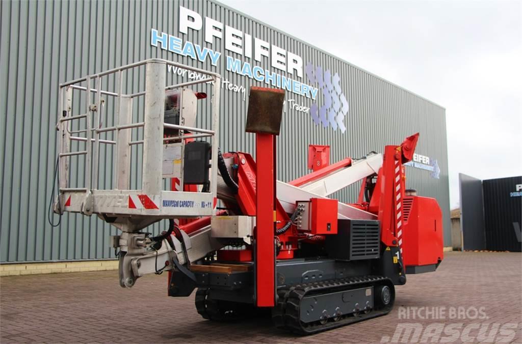 Multitel SMX250HD Diesel, 25.2 m Working Height, Heavy Duty