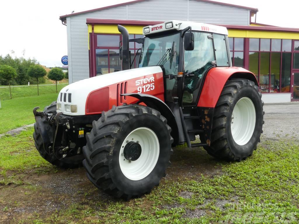 steyr 9125 gebrauchte traktoren gebraucht kaufen und. Black Bedroom Furniture Sets. Home Design Ideas