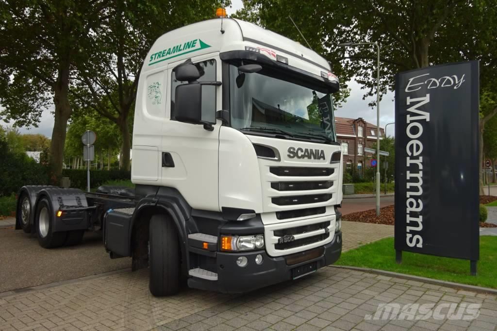 Scania R500 6x2 Chassis High/Streamline